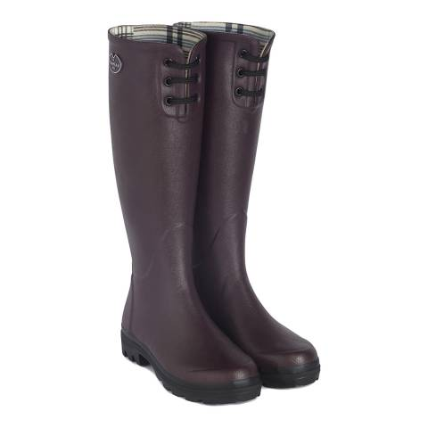 Le Chameau Women's Cherry Lisiere Lace Boot