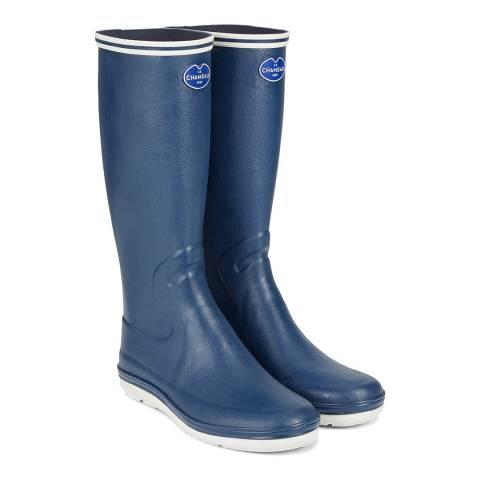 Le Chameau Marine Blue Guerande Wellington Boots