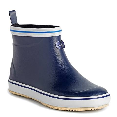 Le Chameau Women's Marine Blue Brehat Chelsea Boots