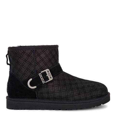 UGG Black Marilu Double Diamond Low Boot
