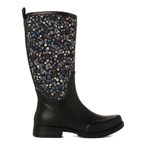UGG Black Rubber Reignfall Liberty Wellie