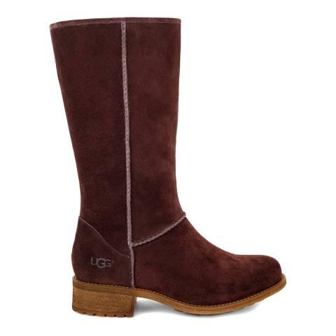 UGG Demitasse Suede Linford Mid Length Flat Boot