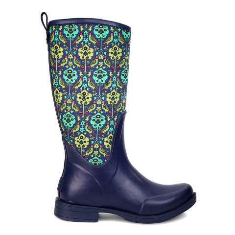 UGG Navy Rubber Reignfall Liberty Wellie