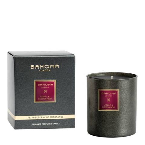 Bahoma Vanilla & Saffron Black CollectionCandle