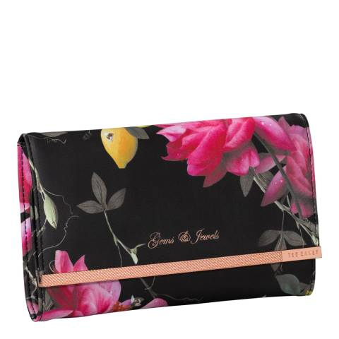 Ted Baker Black Citrus Bloom Jewellery Roll