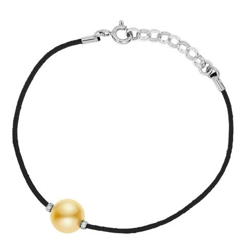 Diamant & Argent Gold Freshwater Pearl Bracelet