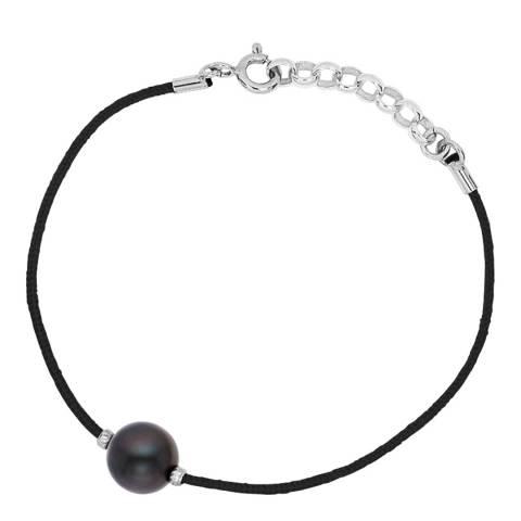 Pretty Solos Black Freshwater Pearl Bracelet