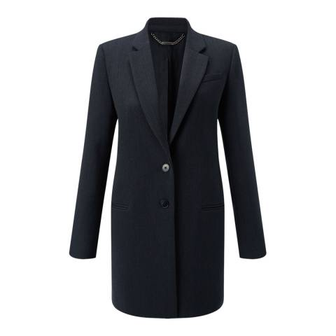 Jigsaw Womens Petrol Compact Wool Jacket