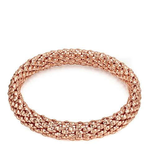 Runway Rose Gold Plated Diamond Bracelet