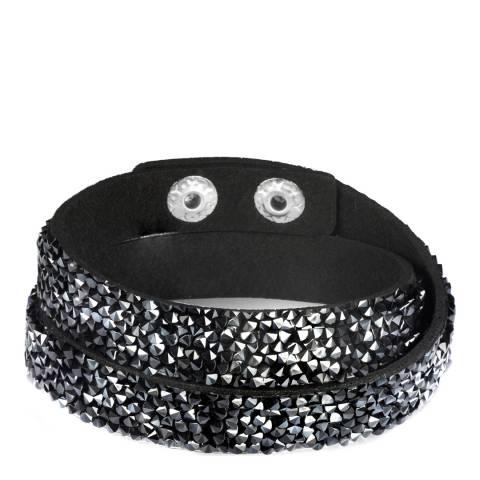 Runway Black Textile Bracelet
