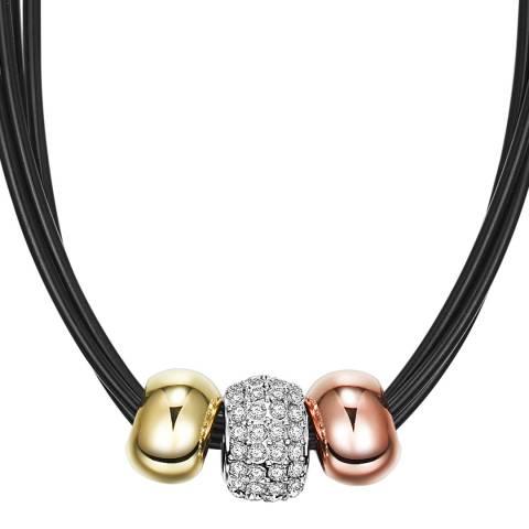 Runway Silver/Gold/Rose Gold/Black Necklace