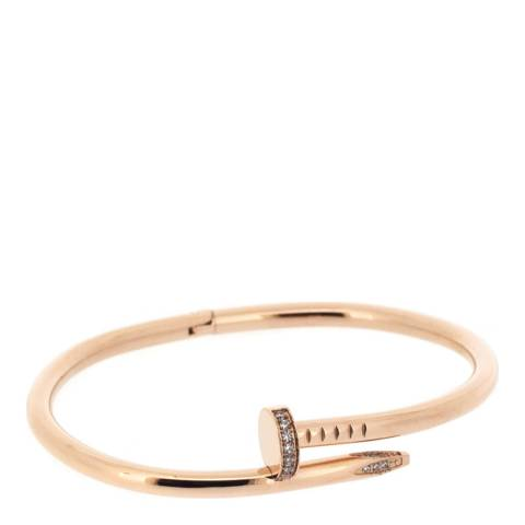 Chloe by Liv Oliver Gold Nail Head Embelished Bangle