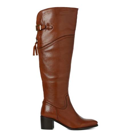 Justin Reece Womens Wisky Leather Faye Long Boots