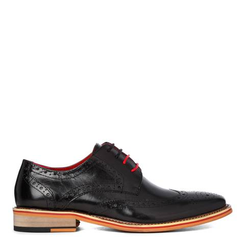 Justin Reece Brown Leather Dover Brogues