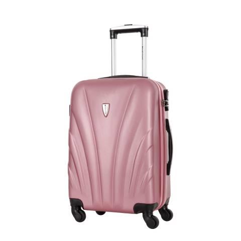 Platinium Rose Spinner Delfino Suitcase 60cm