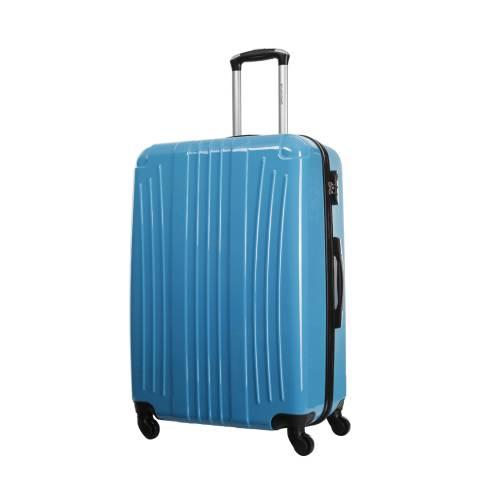 Platinium Blue Spinner Grimsby Suitcase 60cm