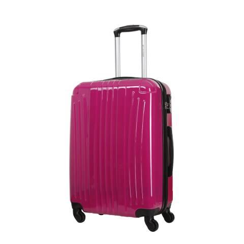 Platinium Fuchsia Spinner Grimsby Suitcase 60cm