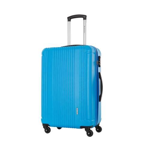 Platinium Blue Spinner Antegria Suitcase 60cm