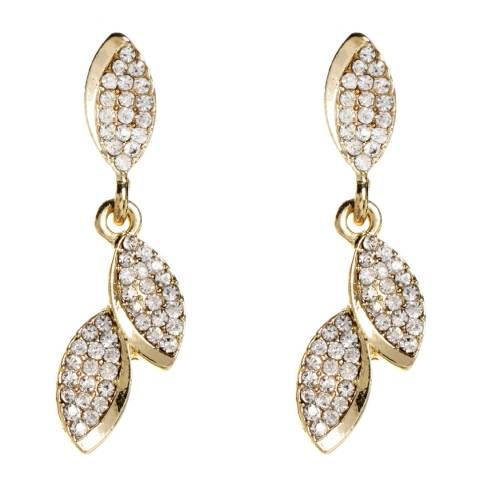 Amrita Singh Gold Bouley Crystal Earrings