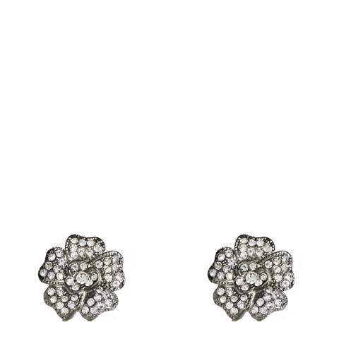 Amrita Singh Gunmetal Primrose Earrings