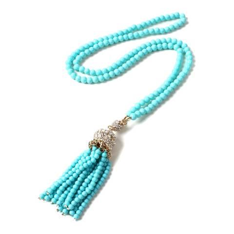 Amrita Singh Turquoise Izmir Tassel Necklace