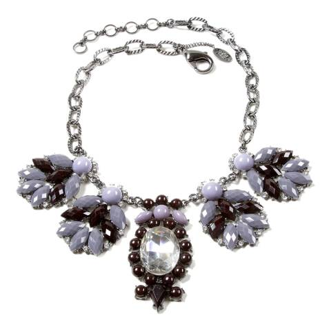 Amrita Singh Grey/Black Jasmin Necklace