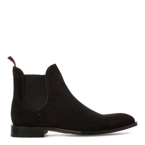 Oliver Sweeney Black Suede Quaresma Chelsea Boots