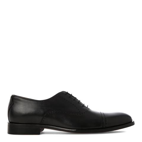 Oliver Sweeney Black Livorno Toe Cap Oxford Shoes