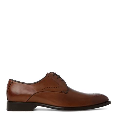 Oliver Sweeney Tan Brown Leather Paderne Derby Brogue