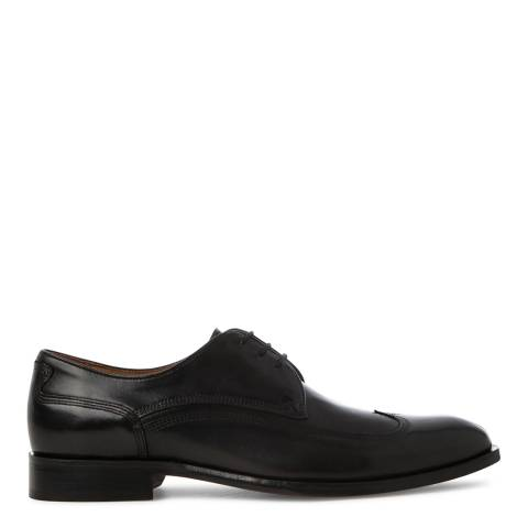 Oliver Sweeney Black Leather Savoia Wingtip Derby