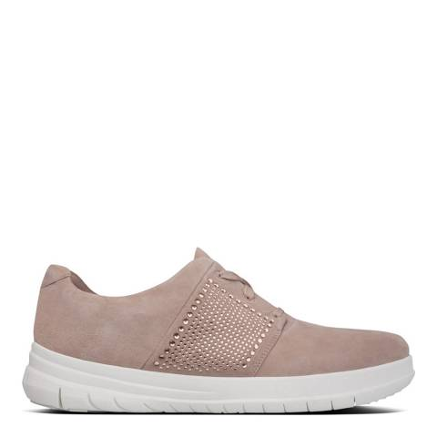 FitFlop Womens Mocha Sporty Pop X Crystal Sneaker