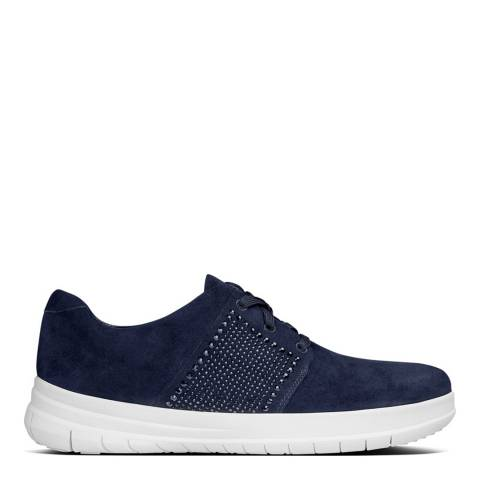 FitFlop Midnight Navy Sporty Pop X Crystal Sneaker