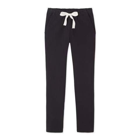 Petit Bateau Grey Stretch Cotton Pants