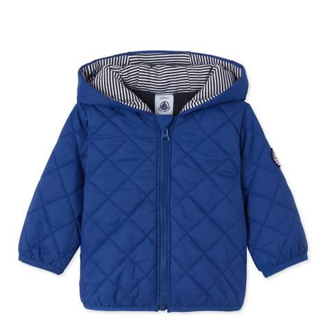 Petit Bateau Cobalt Blue Padded Jacket
