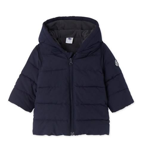 Petit Bateau Navy Warmar Padded Jacket