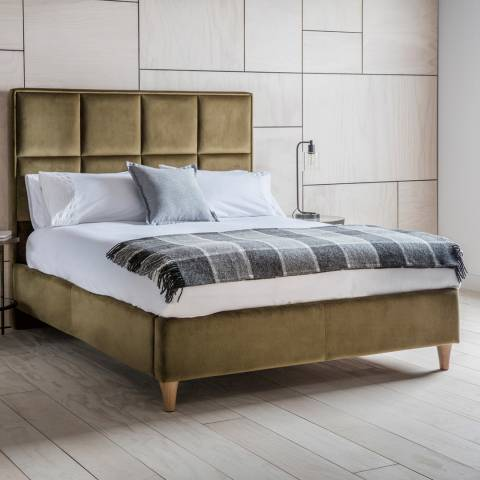 Gallery Olive King Size York Bedstead