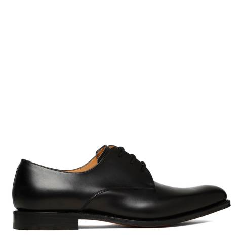 Church's Black Leather Oslo Gibson Derby Shoes