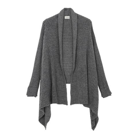 Rodier Dark Grey Short Long Sleeve cape