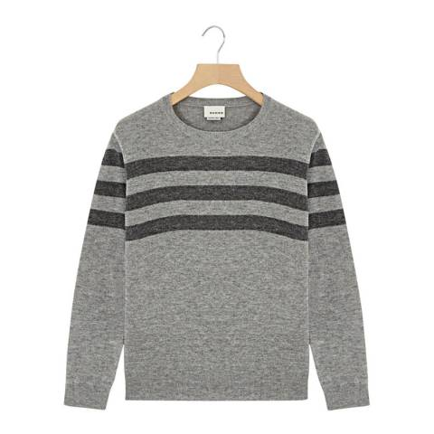 Rodier Grey Three Wool Jumper