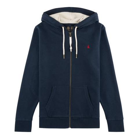 Musto Women's Navy Windward Hoody Sweat