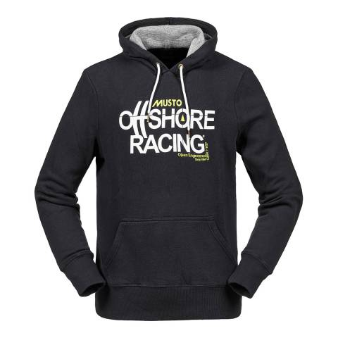 Musto Black Offshore Hoody Sweater