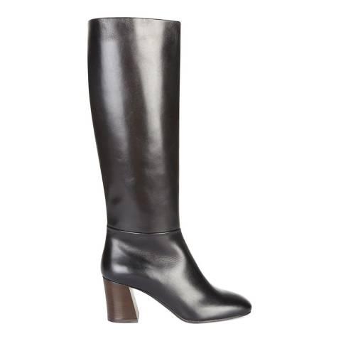 Hobbs London Black Isla Knee High Boots