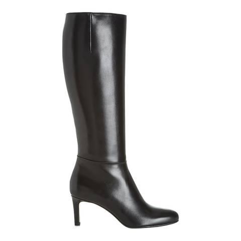 Hobbs London Black Lizzie Knee High Boots