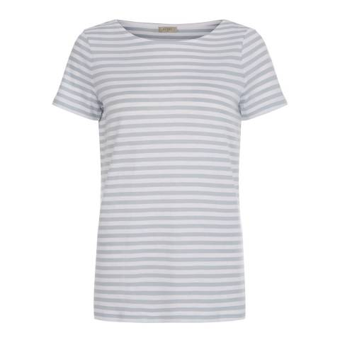Hobbs London Blue/White Stripe Rosie Tshirt