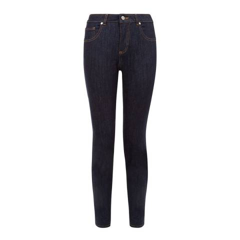 Hobbs London Navy Dickenson Regular Skinny Jeans