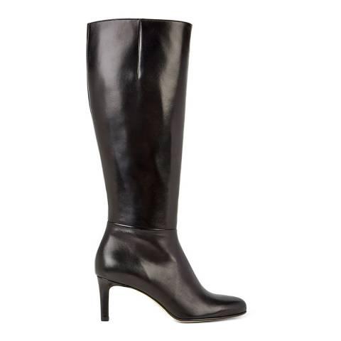 Hobbs London Black Wide Fit Lizzie Knee High Boots