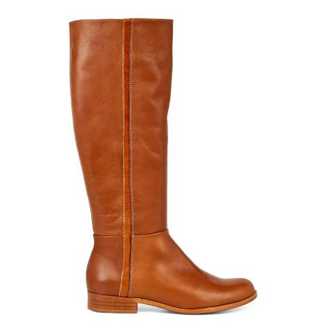 Hobbs London Tan Slim Fit Diane Knee High Boots