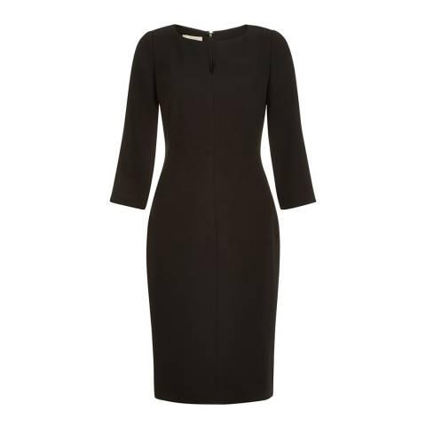 Hobbs London Black Tailored Aileen Dress
