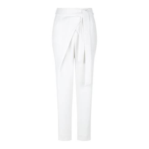 Hobbs London White Sundas Trousers