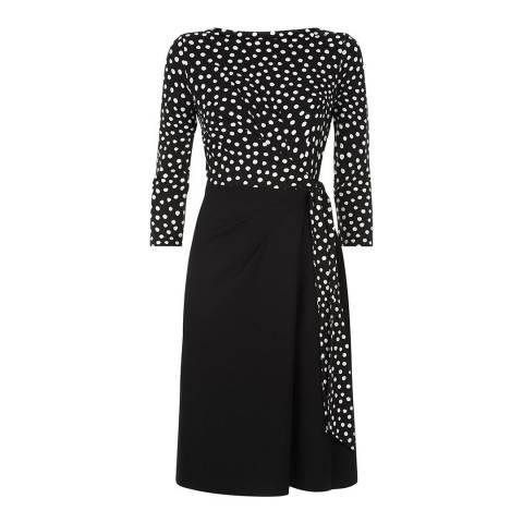 Hobbs London Black Jersey Tanya Dress